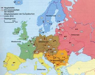 mittel europa karte