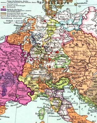 Heiliges Römisches Reich Karte.Deutsch Französische Materialien Es Soll Von Französischen Und