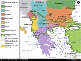 Osmanisches Reich Karte 1914.Deutsch Französische Materialien Einführung