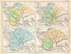 Nordfranzösisches Becken französische materialien die herrschaft der franken
